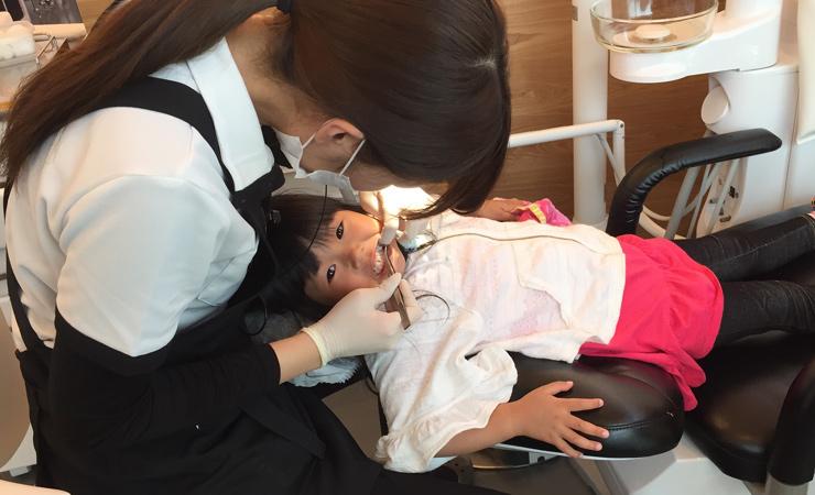 お子さまの治療イメージ